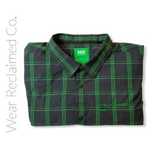 HELLY HANSEN Green Ekolab Long Sleeve Men's Shirt